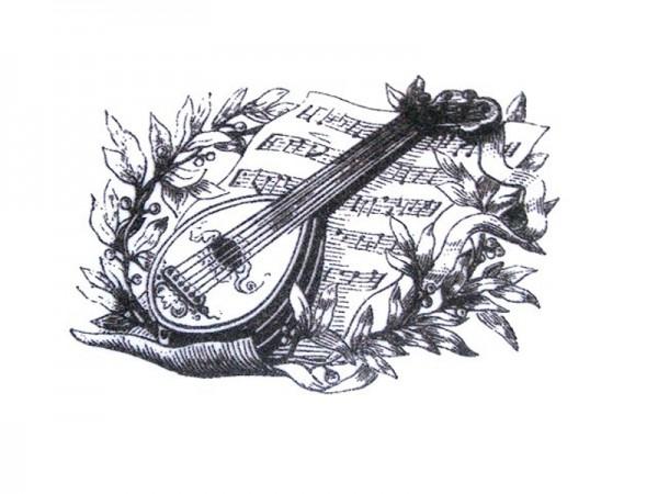 """Stempel """"Musik"""""""