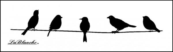 """Stempel """"Vögel auf Zweig"""""""