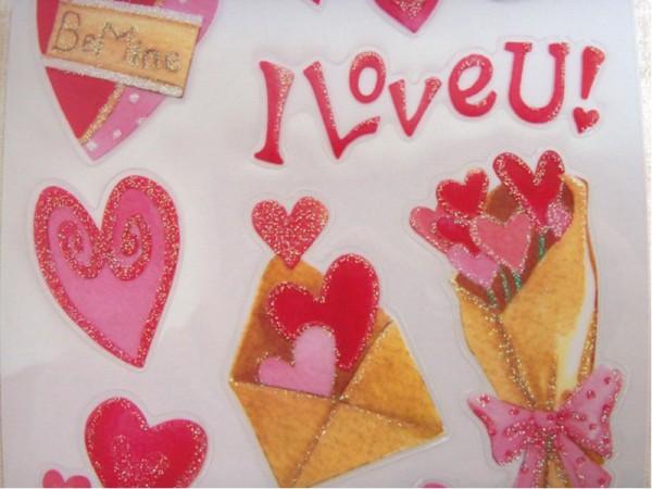 "Epoxy Sticker ""Love"""