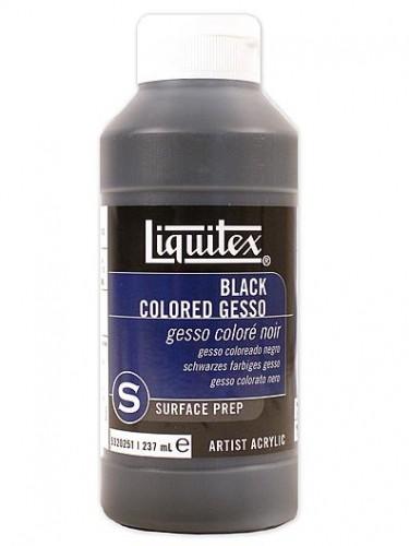 Gesso Grundierung von Liquitex - Schwarz