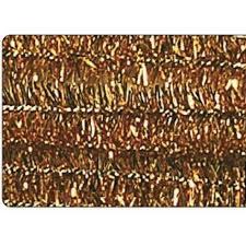 Chenille Draht - Metallic-Gold (10 Stück)