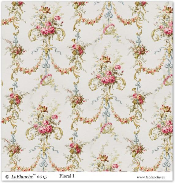 """Designpapier """"Floral"""" 1"""