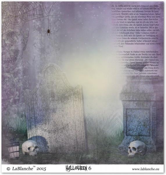 """Designpapier """"Halloween VI"""""""