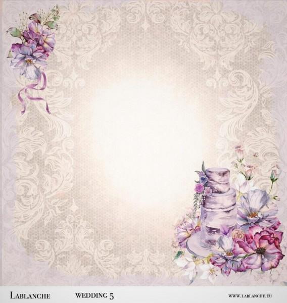 "Designpapier ""Wedding"" 5"