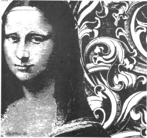 "Stempel ""Mona Lisa"""