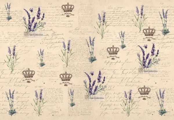 """Decoupagepapier """"Lavendel"""" 1"""