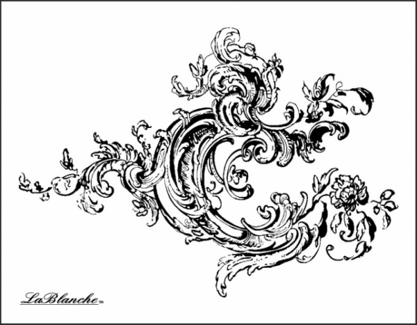 "Stempel ""Background Swirl"""