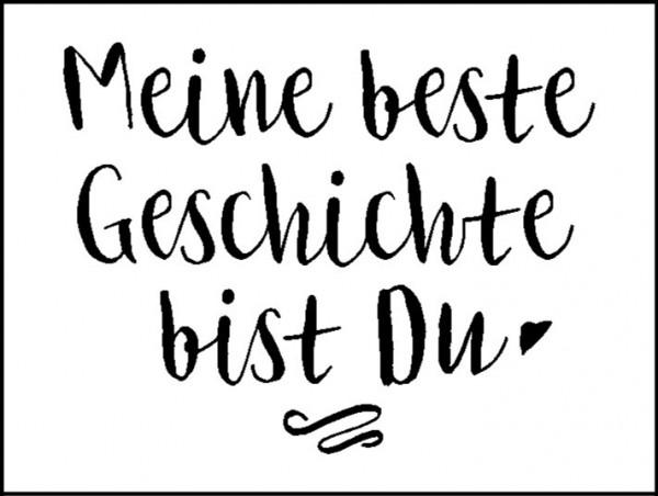 """Stempel """"Meine beste Geschichte..."""""""