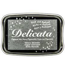 Delicata Stempelkissen - Silber