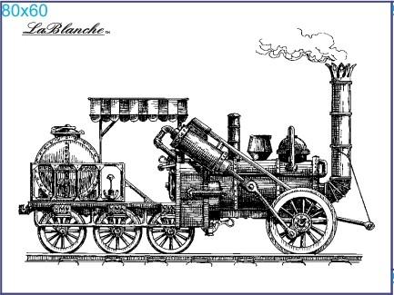 "Stempel ""Lokomotive"" 1"