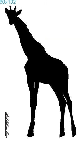 "Stempel ""Giraffe groß"""