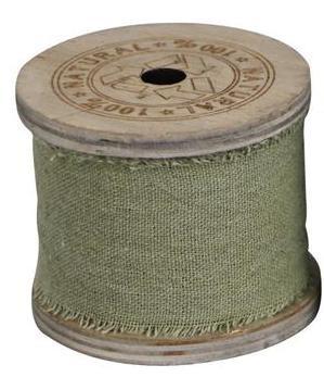 Stoffband grün - 3 m