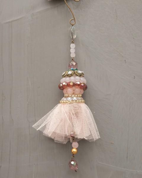 Ornamentaufhänger - Rosa