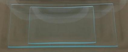 Glasteller 22 x 40 cm