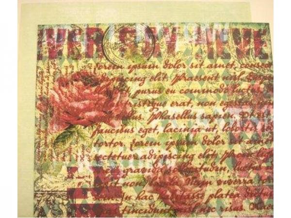 Prima Designpapier Marché de Fleur 30 x 30 cm