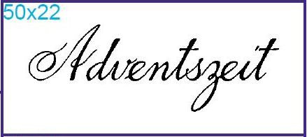 "Stempel ""Adventszeit"""