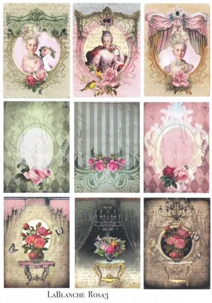 "Natural Papier ""Rosa III"""