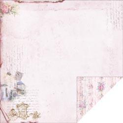 """Designpapier """"Pink Carriage"""" (30,5 x 30,5 cm)"""