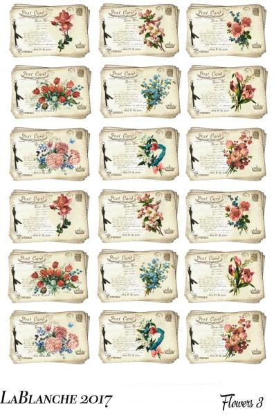 "Natural Papier ""Flowers III"""