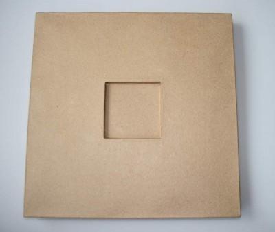 Pappmacheerahmen 39,6 x 39,6 cm