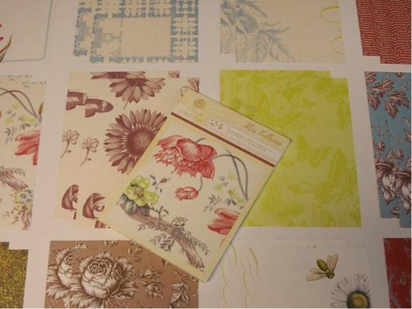 "Anna Griffin Designpapier ""Flora"" 2"