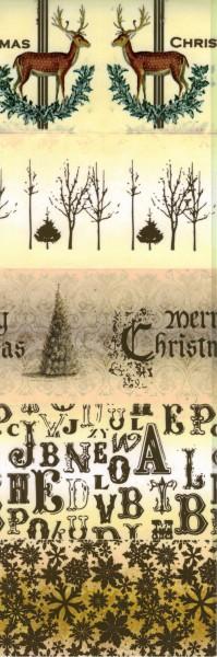 """Schrumpfbanderole """"Frohe Weihnachten"""" 4"""