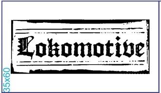 "Stempel ""Lokomotive"" 4"