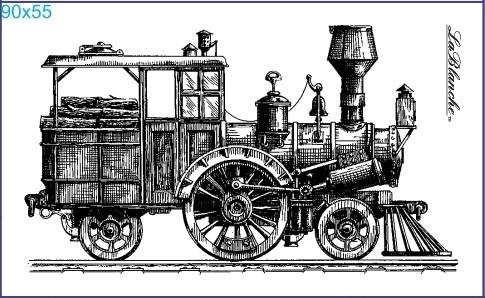 "Stempel ""Lokomotive"" 3"