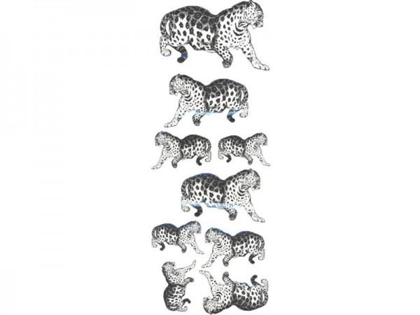 """Transfermotive """"Leoparden"""" (2 Stück)"""