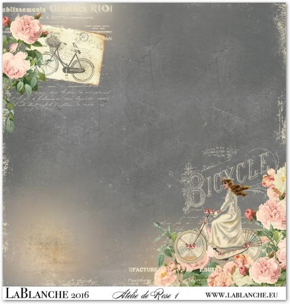 """Designpapier """"Atelier de Rose"""" 1"""
