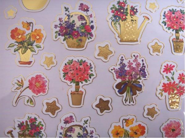 Foliensticker Blumen