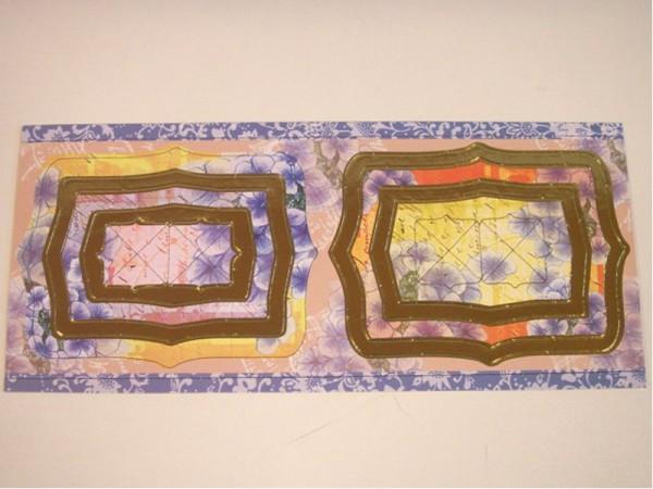 """Chipboard-Rahmen """"Blumen"""""""