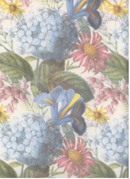 """Anna Griffin Designpapier """"Hortensie und Iris"""""""