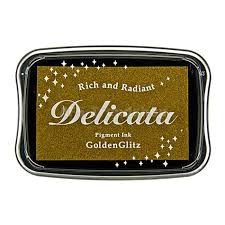 Delicata Stempelkissen - Gold