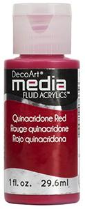 Media Fluid Acrylics - Quinacridone Red