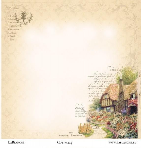 """Designpapier """"Cottage"""" 4"""