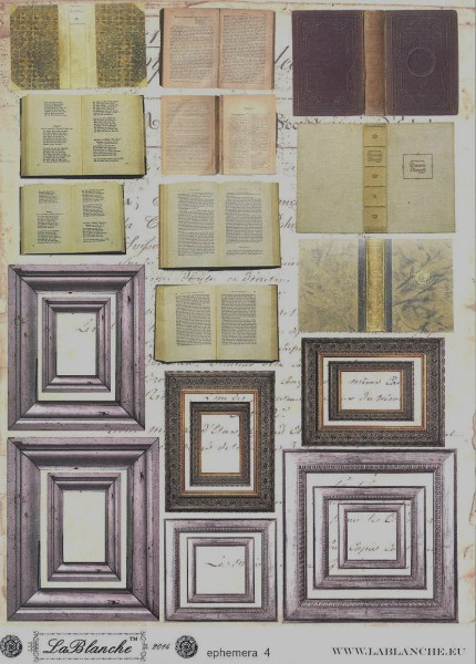 """Natural Papier """"Ephemera IV"""""""