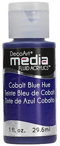Media Fluid Acrylics - Cobalt Blue Hue