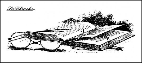 """Stempel """"Brille & Buch"""""""