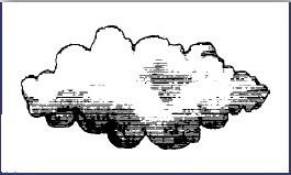 """Stempel """"Cloud"""" 1"""