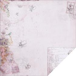 "Designpapier ""Purple High Tea"" (30,5 x 30,5 cm)"