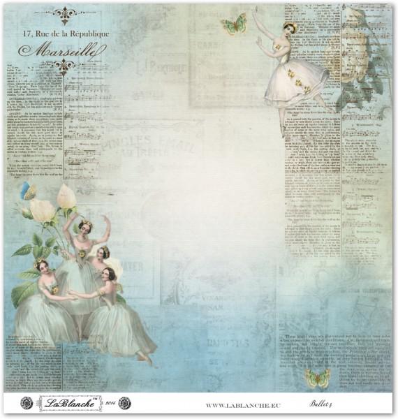 "Designpapier ""Ballett"" 4"