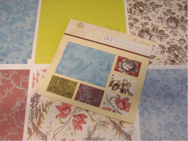 "Anna Griffin Designpapier ""Flora"" 1"
