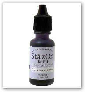 StazOn Nachfüllflasche - Vibrant Violet