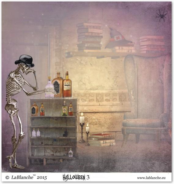 """Designpapier """"Halloween III"""""""