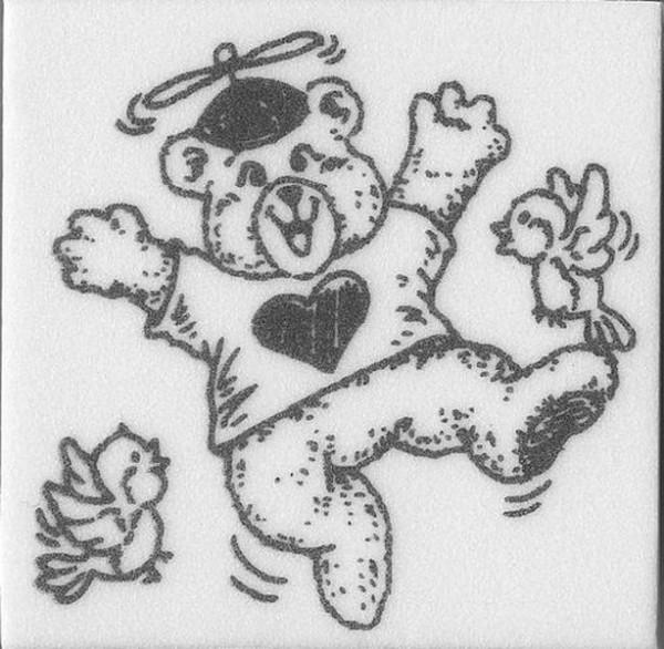 """Stempel """"Teddy mit Propeller"""""""