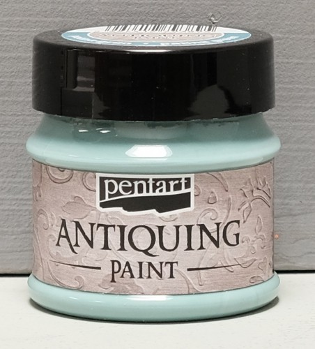 Antiquing Paint - Patina-Blau - 50 ml