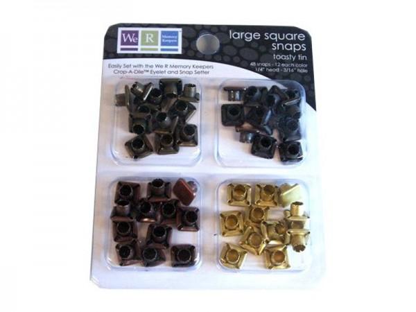 Snaps - Large Square Toasty Tin