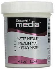 Matte Medium - Transfermedium