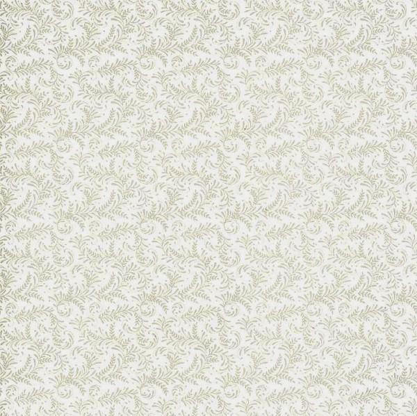 """Anna Griffin Designpapier """"Barockes Ornament"""" - Grau"""